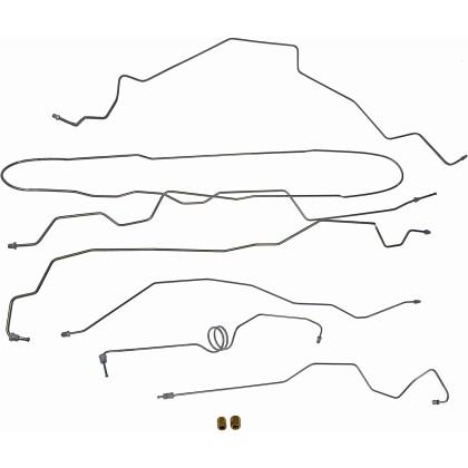 Dorman 919-228 Stainless Steel Brake Line Kit for 99-00 Ford F250 F350 SD Pickup